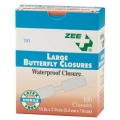 BUTTERFLY BANDAGES, LARGE 100/BX