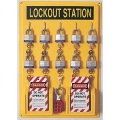 LOCKOUT STATION 4-POSITION, NO LOCKS
